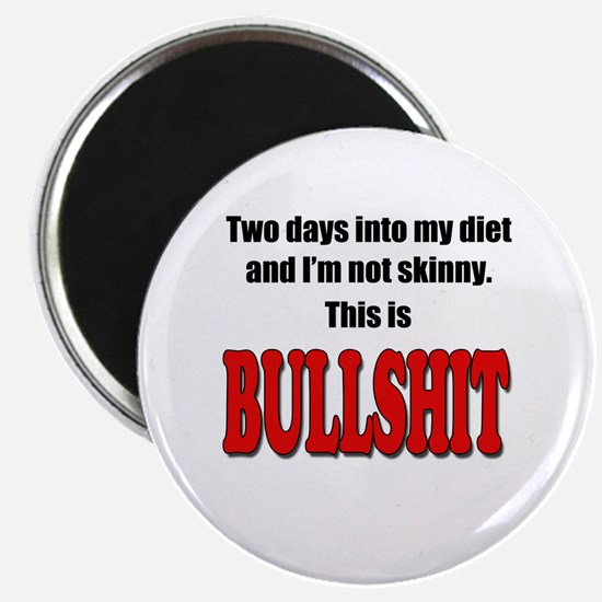 Hangry - Design 2 Magnets