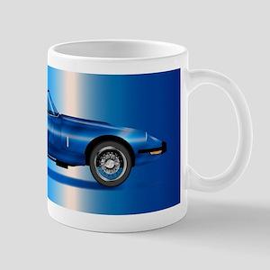 Sleak British Sports Car Mugs