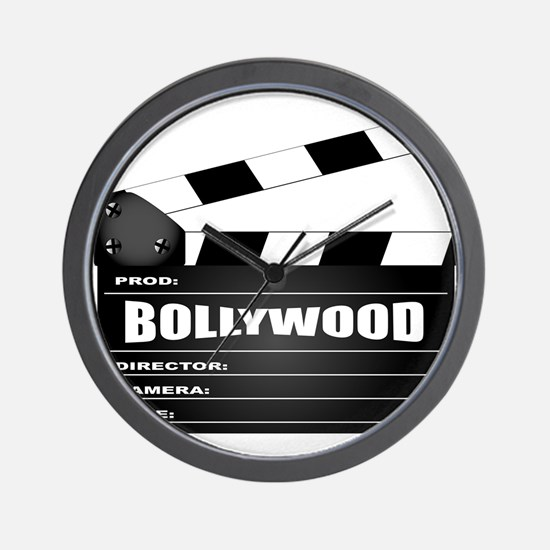 Bollywood Clapperboard Wall Clock