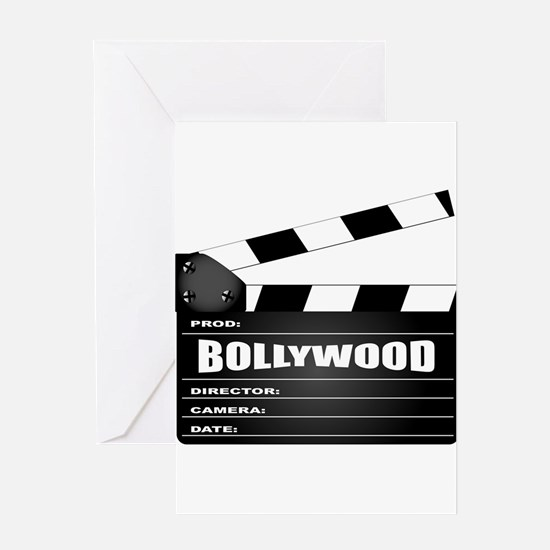 Bollywood Clapperboard Greeting Cards