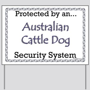 ACD Security Yard Sign