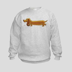NEW! Weiner Dog Kids Sweatshirt