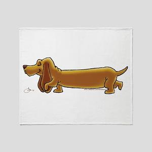 NEW! Weiner Dog Throw Blanket