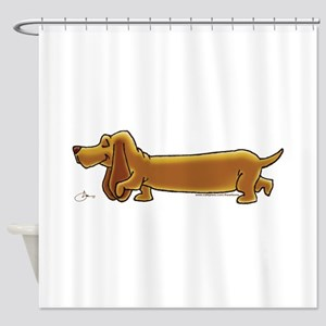 NEW! Weiner Dog Shower Curtain