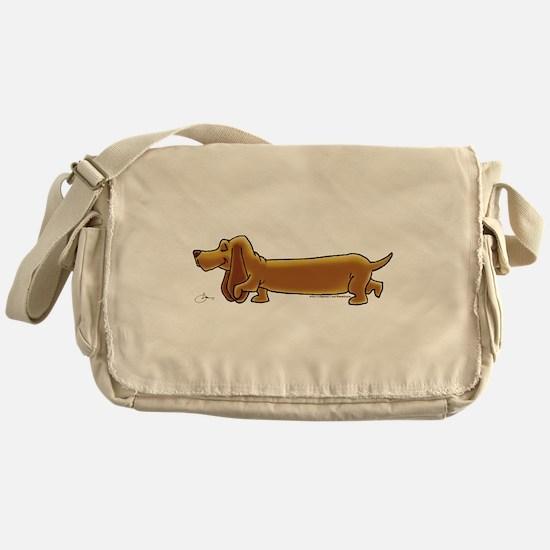 NEW! Weiner Dog Messenger Bag