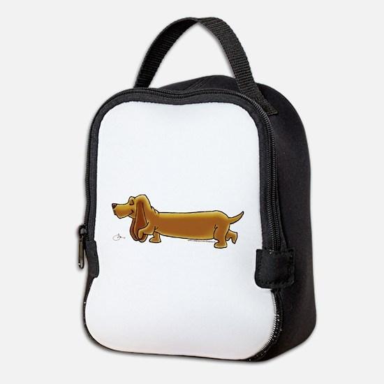 NEW! Weiner Dog Neoprene Lunch Bag