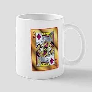 Gold King Of Diamonds Mugs