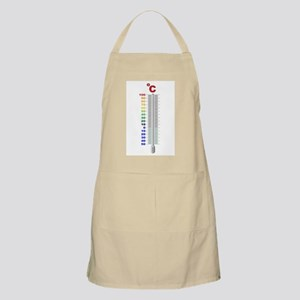 A Temperature Thermometer Apron
