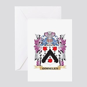 Cornelius Coat of Arms (Family Cres Greeting Cards
