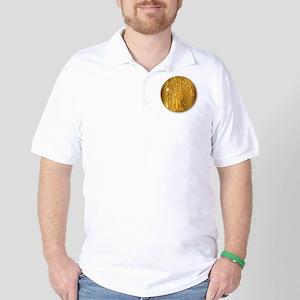 Golden Shekel Golf Shirt