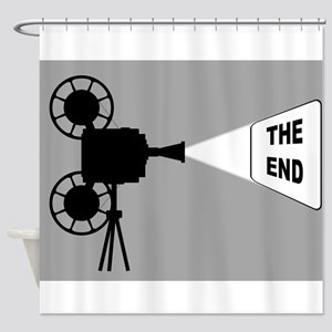 Movie Cine Projector The End Shower Curtain