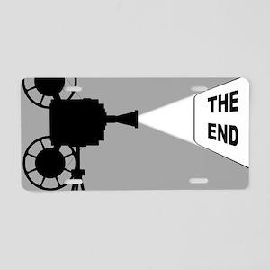 Movie Cine Projector The En Aluminum License Plate