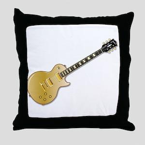 Classic Gold Top Throw Pillow