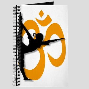 Yoga Pose Poster. Journal