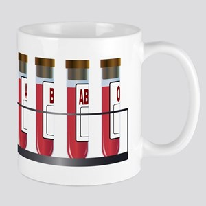 Blood Group Samples Mugs