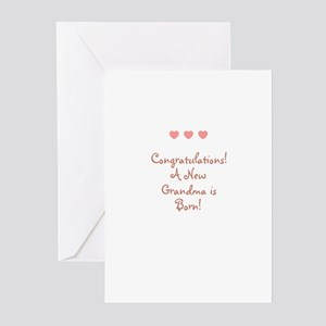 Congratulations! A New Grandm Greeting Cards (Pk o