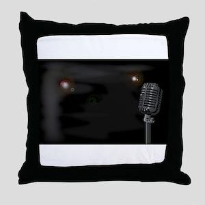 Smokey Club Background Throw Pillow