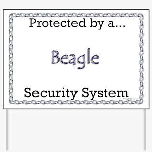 Beagle Security  Yard Sign