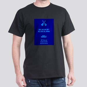 Keep Calm And Play Them Blues T-Shirt
