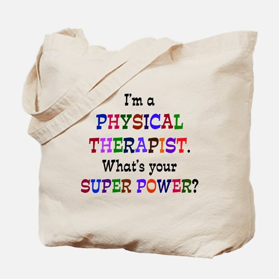 Funny Physical therapist Tote Bag