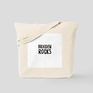 Braiden Rocks Tote Bag