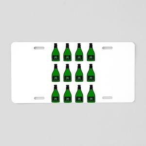 Bottles OF Poison Aluminum License Plate