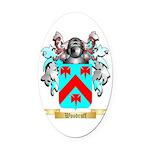 Woodruff Oval Car Magnet