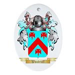 Woodruff Oval Ornament