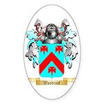 Woodroof Sticker (Oval 10 pk)