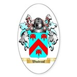 Woodroof Sticker (Oval 50 pk)