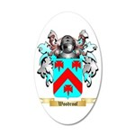 Woodroof 20x12 Oval Wall Decal