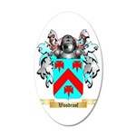 Woodroof 35x21 Oval Wall Decal