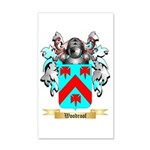 Woodroof 20x12 Wall Decal