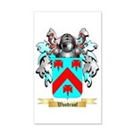 Woodroof 35x21 Wall Decal