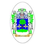 Woodman Sticker (Oval)