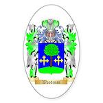 Woodman Sticker (Oval 50 pk)