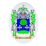 Woodman Oval Ornament