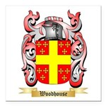 Woodhouse Square Car Magnet 3