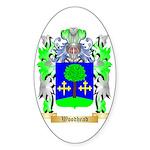 Woodhead Sticker (Oval 10 pk)