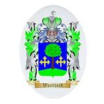 Woodhead Oval Ornament