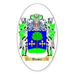 Wooder Sticker (Oval 50 pk)