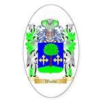 Woode Sticker (Oval)
