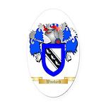 Woodard Oval Car Magnet