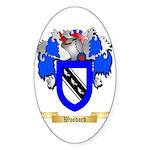 Woodard Sticker (Oval 50 pk)