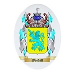Woodall Oval Ornament