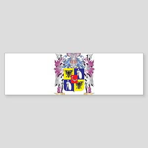 Corpus Coat of Arms (Family Crest) Bumper Sticker