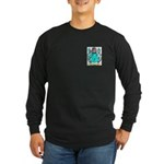 Wood English Long Sleeve Dark T-Shirt
