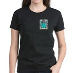 Wood English Women's Dark T-Shirt