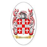Wommack Sticker (Oval)