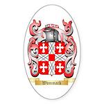 Wommack Sticker (Oval 50 pk)